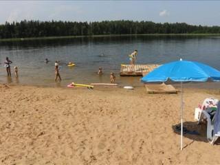 Svētūnes ezers - iecienītākā apkārtnes iedzīvotāju atpūtas vieta