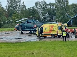 Ar helikopteru uz Rīgu nogādā pacientu